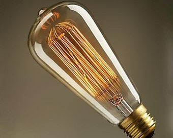 40W Edison Bulb for Retro and Vintage Lighting