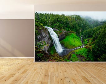 Wall Art Waterfall in Nature Wallpaper HUGE