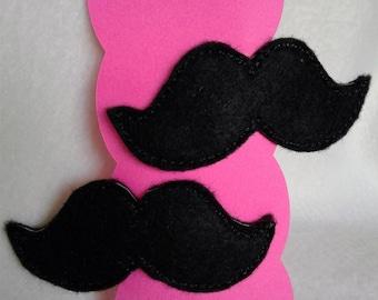 Girls Mustache Hair Barrett