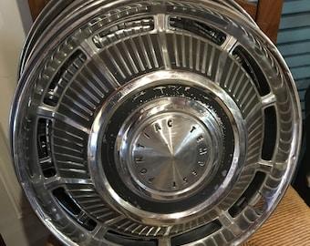 60s Pontiac Hubcaps