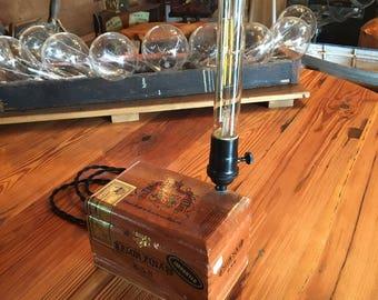 Cuban Cigar Box Light Fixture