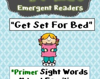 Learn to Read-Short E Word Families-High Frequency Sight Words-Phonics Activities-Printable Booklet-School-Homeschool