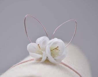 Whimsical bunny ears crown