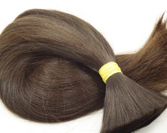 """Natural (not colored) slavic hair Extensions 24"""" (61 cm), 238 grams (8.4 oz)"""