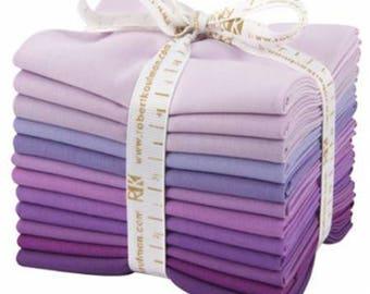 Kona Cotton Lavender Fields FQ Bundle