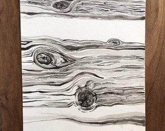 Wood Knots PRINT