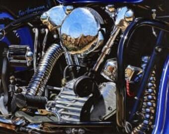 Knuckleheads- Motorcycle Metal Sign