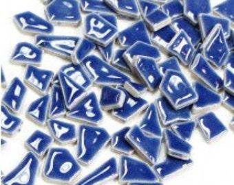 Jigsaw Mosaic Tiles - Delphinimum 100g