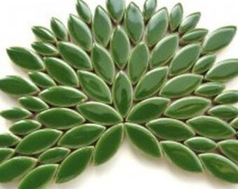 Petal Ceramic Mosaic Tiles - Eucalyptus - 50g (approx. 50 petals)
