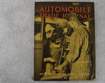 Automobile Trade Journal Magazine August 1931