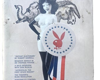 Vintage Playboy Magazine November 1968 Nancy Mcneil Centerfold