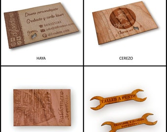 Custom wood business cards. Wood engraving. Wooden cards. Laser cutting and engraving. Wooden business cards
