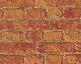 dollhouse wallpaper flooring and brick - photo #10