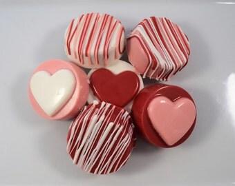 Valentine's Chocolate Covered Oreos