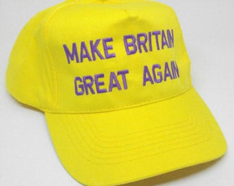 Make Britain Great Again Baseball Cap