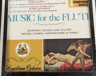 Vintage sealed 1st Component Series Music for the Flute 8 Track Cartridge
