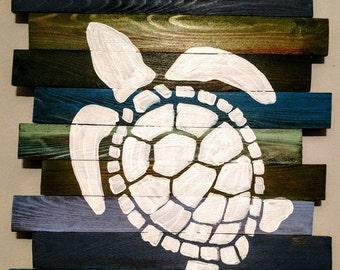 Sea Turtle Wall Hanger