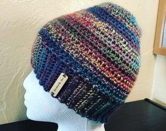 Messy bun hat-messy bun beanie-ready to ship-ponytail hat-bun hat