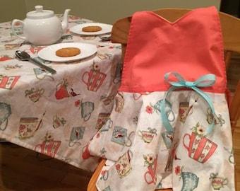 Birthday gift set girl's Tea Time  dress up