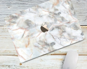 Grey Stone Marble Macbook Case Macbook Air Macbook 12 Case White Marble case Hard Macbook Pro 13 Pro Touch Bar Macbook Pro retina 13 15 case