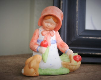 Holly Hobbie Miniature Figurine
