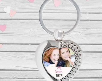 Great Aunt personalized keychain