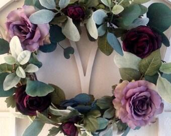 Romantic Rose Wreath