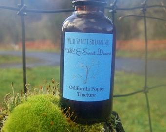 Wild & Sweet Dreams ~California Poppy Tincure