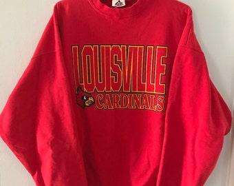 Vintage Louisville Cardinals Crewneck sweatshirt XL