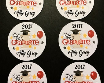 Precut Edible The Graduate images to decorate your cupcakes, cookies or cake with.