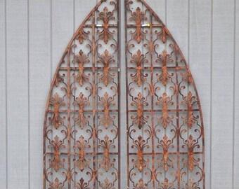 Antique Decorative Iron gates