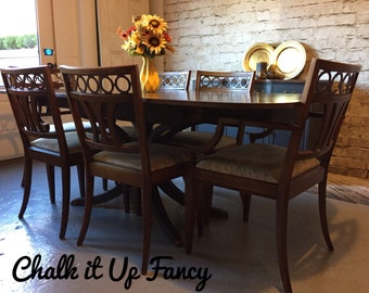 Table and Buffet set
