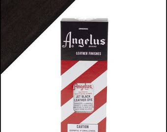Angelus Leather Dye 3oz. Jet Black