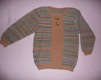 Детский свитер для ребёнка 6-7 лет