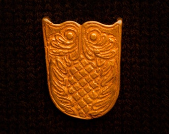 Belt Tip Owl Pattern - Y-70