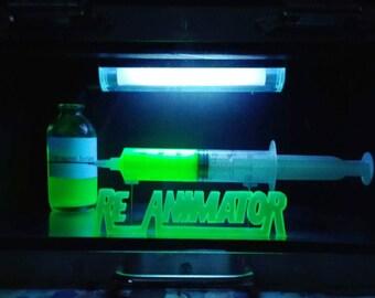 Re-Animator light up prop replica, Bride of, Beyond, House of, Herbert West