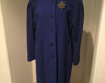 1940'S Blue Coat