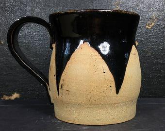 Black Ceramic  Mug, 8 oz