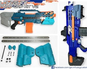 Nerf Longshot Pump-grip Kit V2