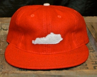 State of KY 100% Wool Cap (Red)