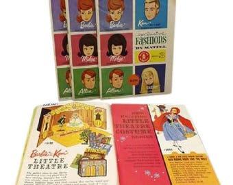 Vintage 1960's Barbie Booklets