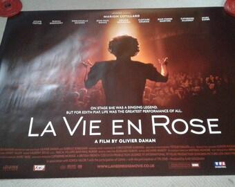 Last Vie En Rose poster