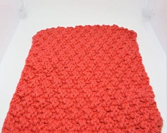 """Square """"bubble"""" dishcloth, cotton dishcloth, knit dishcloth, dishcloth, kitchen towels, knitted items"""