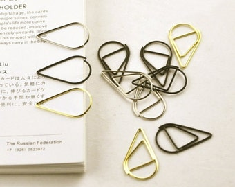 Metal Planner Clips Binder Clips Paper Clips
