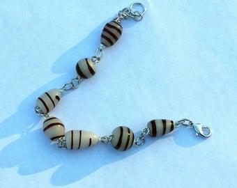 Spiraled Beaded Bracelet