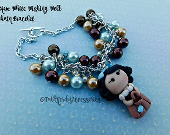 Snow White Wishing Well Chain Bracelet