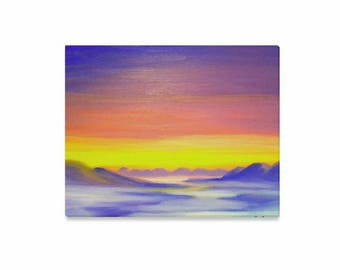 "Canvas Art Print 20""x16"" +3 other sizes -Cloud Valley- FREE Shipping"