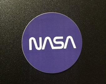 NASA Vinyl Sticker 2x2
