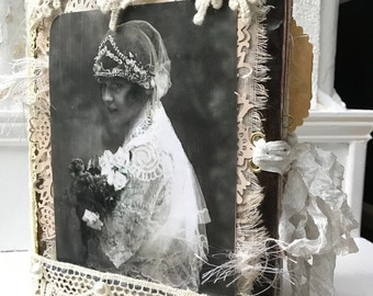Vintage Wedding Journal