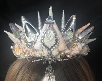 Mermaid Shell Crown *FESTIVAL* *PROP* *HALLOWEEN*